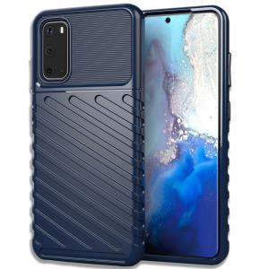 Θήκη Samsung Galaxy S20 OEM Thunder Series Πλάτη από ενισχυμένο TPU μπλε