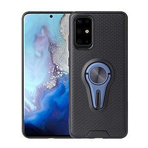 Θήκη Samsung Galaxy S20 OEM Magnetic Ring Kickstand v4 / Μαγνητικό δαχτυλίδι / Βάση στήριξης TPU μπλε
