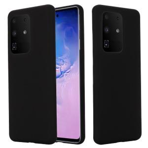 Θήκη Samsung Galaxy S20 Ultra OEM Soft Liquid Silicone Πλάτη σιλικόνης μαύρο