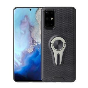 Θήκη Samsung Galaxy S20 Ultra OEM Magnetic Ring Kickstand v4 / Μαγνητικό δαχτυλίδι / Βάση στήριξης TPU γκρι