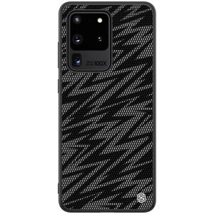Θήκη Samsung Galaxy S20 Ultra NiLLkin Twinkle Series Thunder Πλάτη Hybrid από συνθετικό δέρμα και TPU γκρι