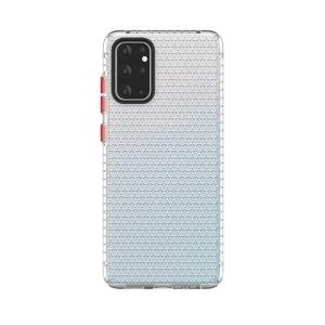 Θήκη Samsung Galaxy S20 Ultra OEM Honeycomb Series V2 Πλάτη Premium Design TPU λευκό
