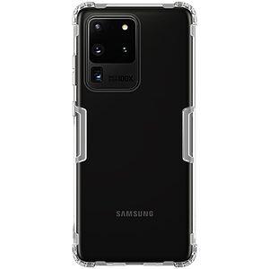 Θήκη Samsung Galaxy S20 Ultra NiLLkin Nature Series 0.6mm Πλάτη TPU λευκό