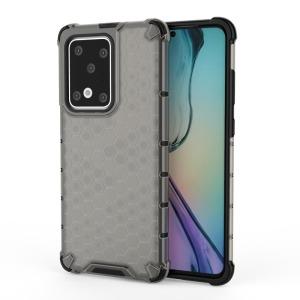 Θήκη Samsung Galaxy S20 Ultra OEM Honeycomb Series Πλάτη Hybrid Shock-Proof από ενισχυμένο πλαστικό και TPU μαύρο