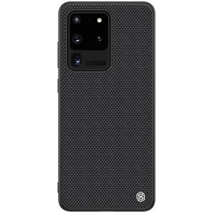 Θήκη Samsung Galaxy S20 Ultra NiLLkin Textured Hard Case Series Πλάτη από ενισχυμένο πλαστικό και TPU μαύρο
