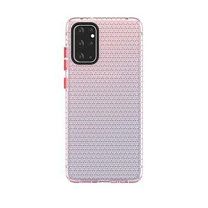 Θήκη Samsung Galaxy S20 Ultra OEM Honeycomb Series V2 Πλάτη Premium Design TPU ροζ