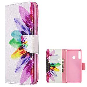 Θήκη Huawei P40 Lite E OEM Colorful Petals με βάση στήριξης