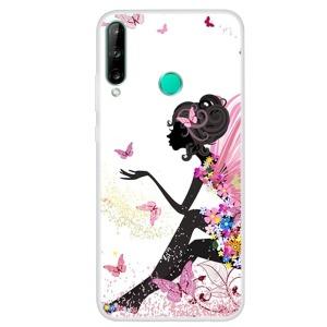 Θήκη Huawei P40 Lite E OEM σχέδιο beautiful butterfly girl με πλάτη TPU