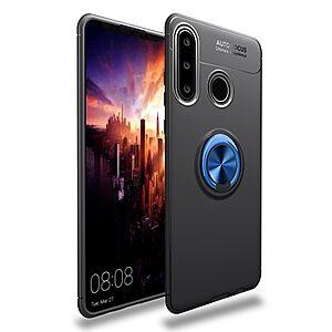 Θήκη Huawei P40 Lite E OEM Magnetic Ring Kickstand / Μαγνητικό δαχτυλίδι / Βάση στήριξης TPU μαύρο / μπλε