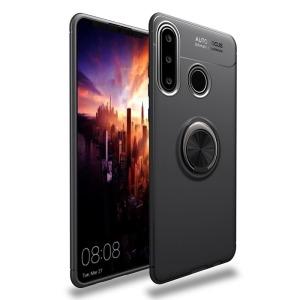Θήκη Huawei P40 Lite OEM Magnetic Ring Kickstand / Μαγνητικό δαχτυλίδι / Βάση στήριξης TPU μαύρο