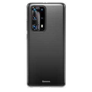 Θήκη Huawei P40 BASEUS Ultra Thin Matte Premium Πλάτη με ημίσκληρο TPU μαύρο