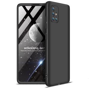Θήκη GKK Full body Protection 360° από σκληρό πλαστικό για  Samsung Galaxy A71 μαύρο