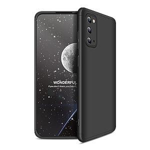 Θήκη GKK Full body Protection 360° από σκληρό πλαστικό για  Samsung Galaxy S20 μαύρο