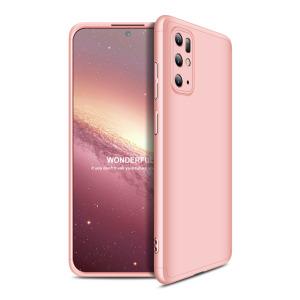 Θήκη GKK Full body Protection 360° από σκληρό πλαστικό για  Samsung Galaxy S20 Plus ροζ χρυσό