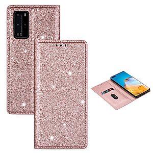 Θήκη Huawei P40 Pro OEM Skin Glitter Series με βάση στήριξης