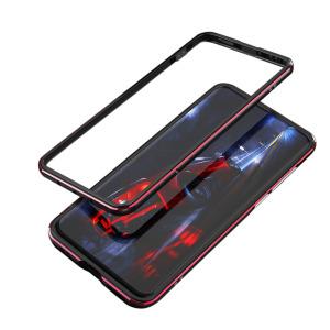 Premium μεταλλικό bumper για Huawei P40 Pro OEM και ειδικό κλείδωμα με βίδες μαύρο / κόκκινο