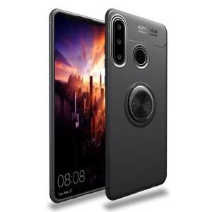 Θήκη Huawei Y6p OEM Magnetic Ring Kickstand / Μαγνητικό δαχτυλίδι / Βάση στήριξης TPU μαύρο