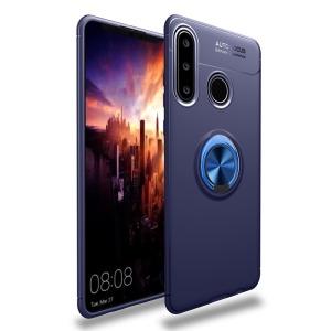 Θήκη Huawei Y6p OEM Magnetic Ring Kickstand / Μαγνητικό δαχτυλίδι / Βάση στήριξης TPU μπλε
