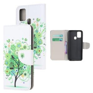 Θήκη Samsung Galaxy A21s OEM Green Tree με βάση στήριξης