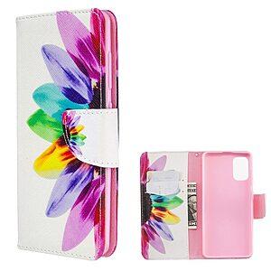 Θήκη Samsung Galaxy A41 OEM Colorful Petals με βάση στήριξης