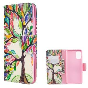 Θήκη Samsung Galaxy A41 OEM Colorized Tree με βάση στήριξης