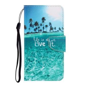 Θήκη Samsung Galaxy A41 OEM Coconut Tree sea με βάση στήριξης