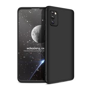 Θήκη GKK Full body Protection 360° από σκληρό πλαστικό για Samsung Galaxy A41 μαύρο