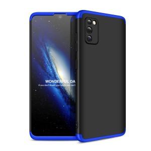 Θήκη GKK Full body Protection 360° από σκληρό πλαστικό για Samsung Galaxy A41 μαύρο / μπλε