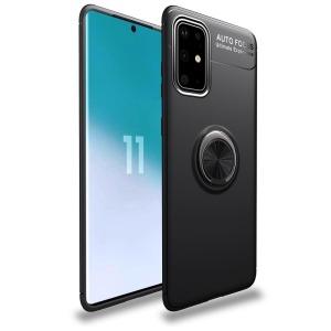 Θήκη Samsung Galaxy A41 OEM Magnetic Ring Kickstand / Μαγνητικό δαχτυλίδι / Βάση στήριξης TPU μαύρο