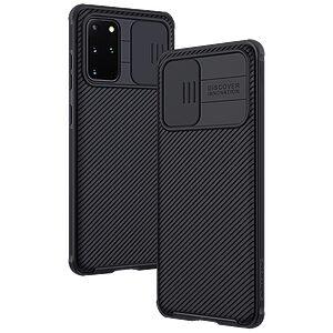 Θήκη Samsung Galaxy S20 Plus NiLLkin Camshield Series Πλάτη με προστασία για την κάμερα από σκλήρό Premium TPU μαύρο