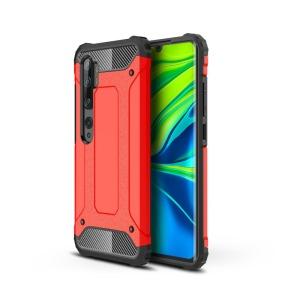 Θήκη Xiaomi Mi Note 10 Lite OEM Armor Guard Hybrid Πλάτη από σκληρό πλαστικό και TPU κόκκινο