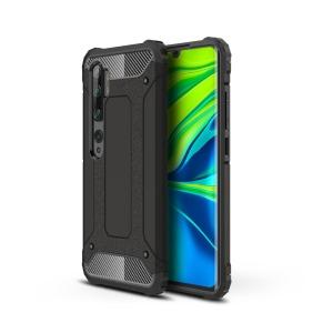 Θήκη Xiaomi Mi Note 10 Lite OEM Armor Guard Hybrid Πλάτη από σκληρό πλαστικό και TPU μαύρο