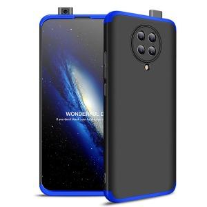 Θήκη GKK Full body Protection 360° από σκληρό πλαστικό για Xiaomi Poco F2 Pro μαύρο / μπλε