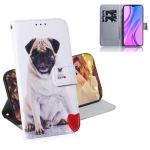Θήκη Xiaomi Redmi 9 OEM Cute Dog με βάση στήριξης
