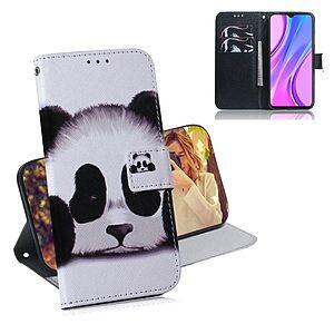 Θήκη Xiaomi Redmi 9 OEM Cute Panda με βάση στήριξης
