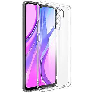 Θήκη Xiaomi Redmi 9 IMAK UX-5 Series Soft TPU πλάτη διάφανη