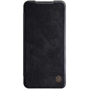 Θήκη Xiaomi Redmi Note 9 NiLLkin Qin Series με υποδοχή για κάρτες Flip Wallet από σκληρό πλαστικό και συνθετικό δέρμα μαύρο