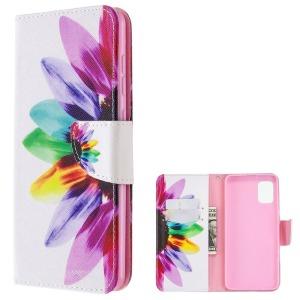 Θήκη Samsung Galaxy A31 OEM Colorful Petals με βάση στήριξης