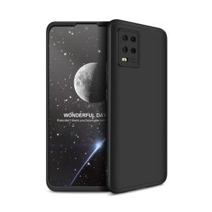 Θήκη GKK Full body Protection 360° από σκληρό πλαστικό για Xiaomi Mi 10 Lite μαύρο
