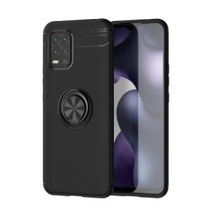 Θήκη Xiaomi Mi 10 Lite OEM Magnetic Ring Kickstand / Μαγνητικό δαχτυλίδι / Βάση στήριξης TPU μαύρο