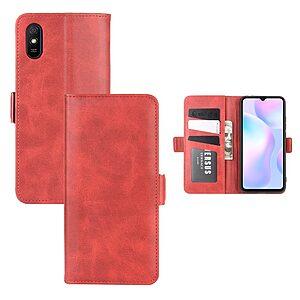 Θήκη Xiaomi Redmi 9A OEM Leather Wallet Case V2 με βάση στήριξης