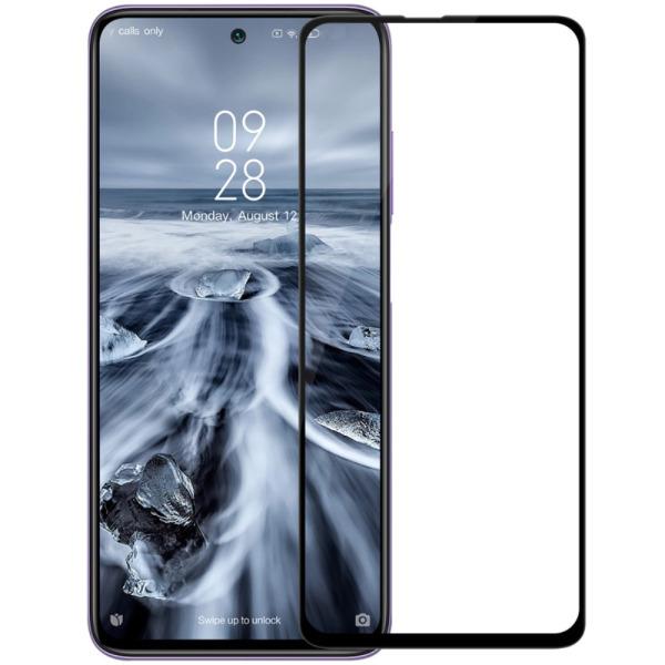 NiLLkin XD CP+ Max Full Arc Edge για Xiaomi Poco X3 NFC (Πλήρης Κάλυψη) Αντιχαρακτικό γυαλί Tempered Glass 9H – μαύρο – 0.33mm μαύρο