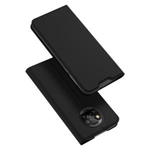 Θήκη Xiaomi Poco X3 NFC DUX DUCIS Skin Pro Series με βάση στήριξης, υποδοχή καρτών και μαγνητικό κούμπωμα Flip Wallet από συνθετικό δέρμα και TPU μαύρο