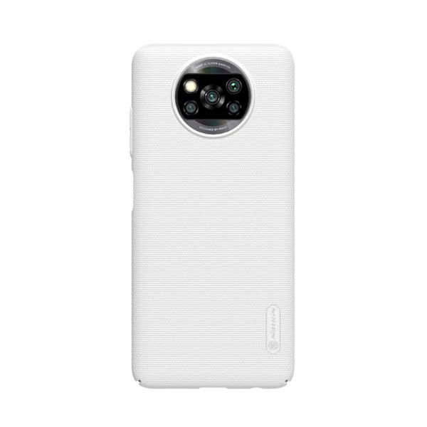 Θήκη Xiaomi Poco X3 NFC NiLLkin Super Frosted Shield Series Πλάτη από Premium σκληρό πλαστικό λευκό