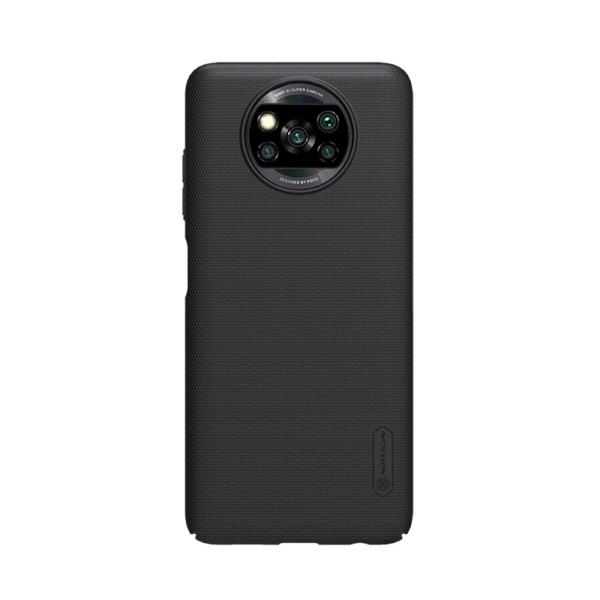 Θήκη Xiaomi Poco X3 NFC NiLLkin Super Frosted Shield Series Πλάτη από Premium σκληρό πλαστικό μαύρο