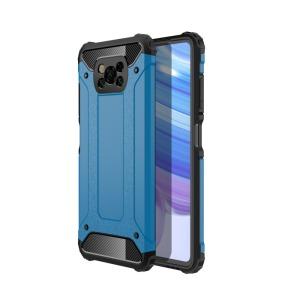 Θήκη Xiaomi Poco X3 NFC OEM Armor Guard Hybrid Πλάτη από σκληρό πλαστικό και TPU γαλάζιο