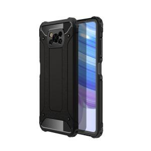 Θήκη Xiaomi Poco X3 NFC OEM Armor Guard Hybrid Πλάτη από σκληρό πλαστικό και TPU μαύρο