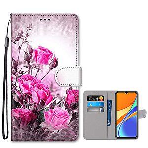 Θήκη Xiaomi Redmi 9C OEM Pretty Roses με βάση στήριξης