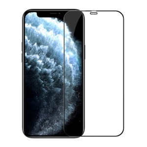 NiLLkin NiLLkin Amazing CP+ Pro Max για iPhone 12 Pro / 12 (Πλήρης Κάλυψη) Αντιχαρακτικό γυαλί Tempered Glass 9H – μαύρο - 0.33mm μαύρο