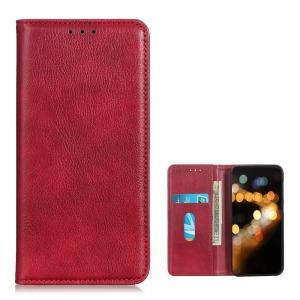Θήκη Huawei P Smart (2021) OEM Litchi Skin Series με βάση στήριξης